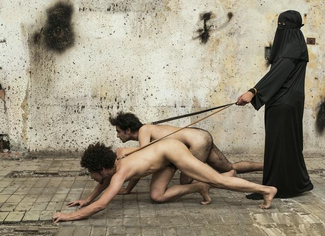 , 'Homo Quadrupeds Black,' 2018, Postmasters Gallery