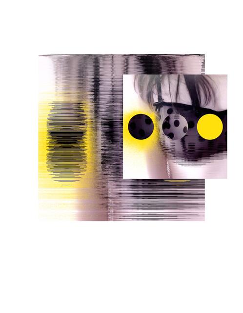 , 'Blk Bra-Yello,' 2017, Barry Whistler Gallery