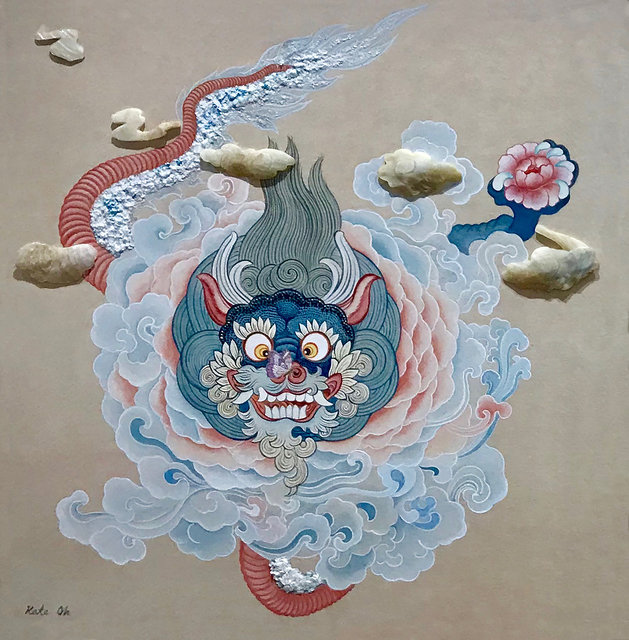 , 'Baby Blue Dragon ,' 2018, Kate Oh Gallery