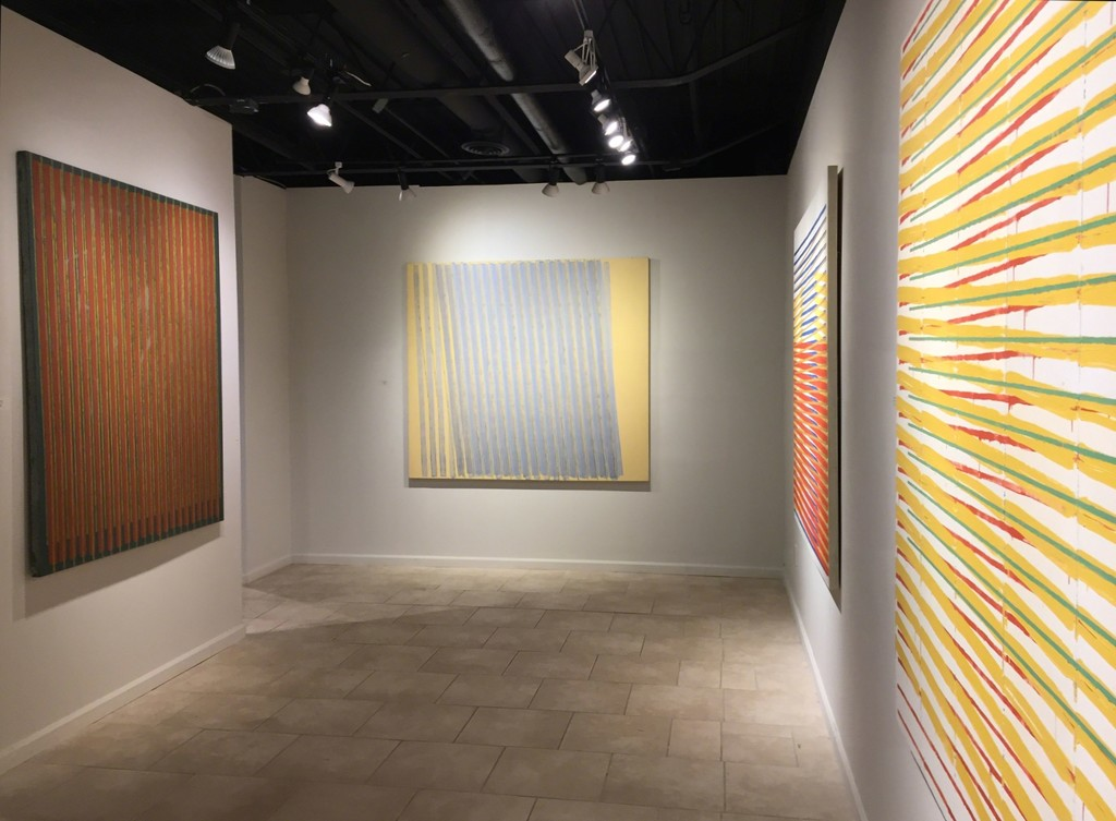 Anthony Greco: Paintings from the 1970s. Left to Right: 314/Eight (1975), 314/Nineteen (1977), 314/Fourteen (1976), 314/Twelve (1976)