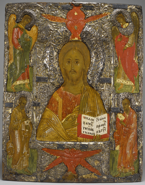 'Christ Pantokrator', 16th century, Walters Art Museum
