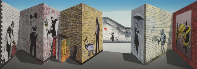 , 'Banksy,' 2018, Galerie de Bellefeuille
