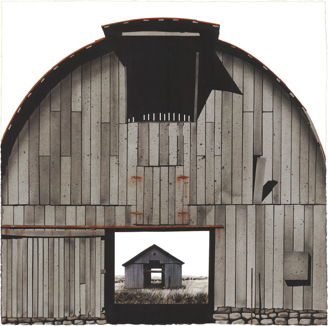 , 'Marion County Barn with Barn,' 2014, Friesen Gallery