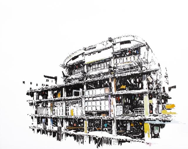 , 'Mémoire d'architecture, le songe de Beyrouth I,' 2016, Gowen Contemporary
