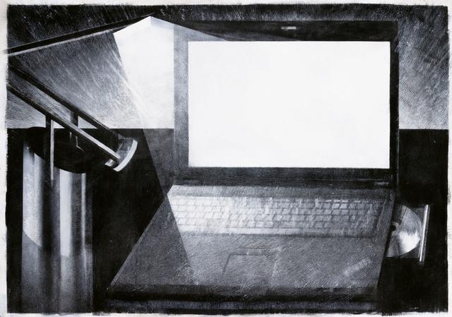 , 'Thinkpad and Tizio,' 2019, Galerie Kleindienst