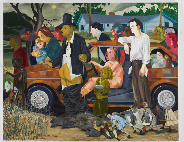 , 'The Triumph of Poverty,' 2009, ICA Philadelphia