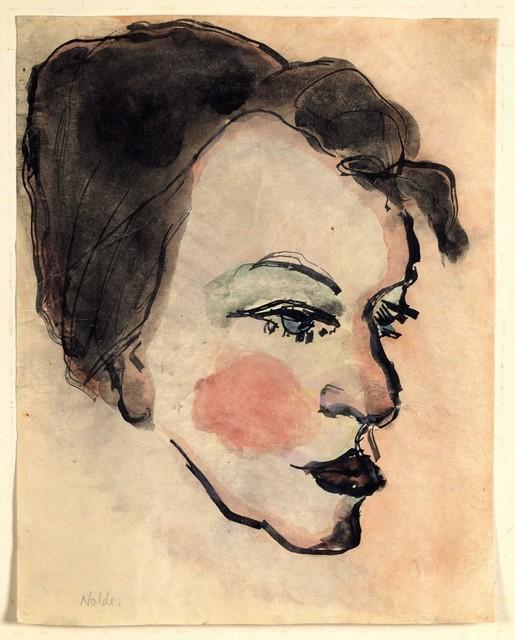 , 'Woman's Head in Half Profile,' , Galerie Thomas