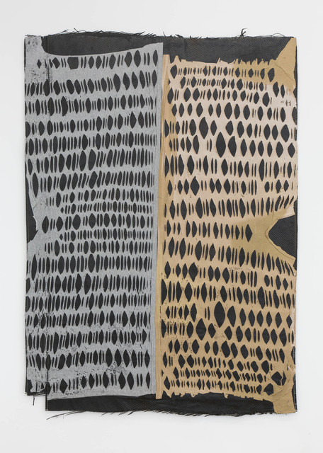 Nicolas Lobo, 'Carbon T-Shirt Panel(pool pump version 1) khaki', 2015, Nina Johnson