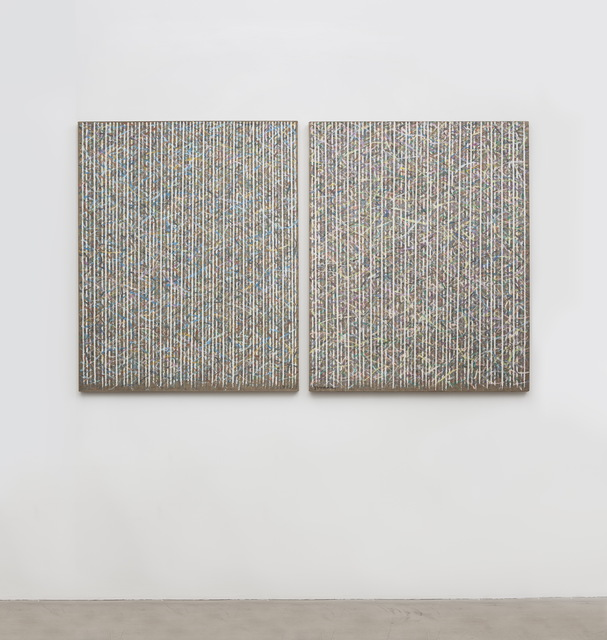 , 'Line Field 91,' 1994, C-Space+Local