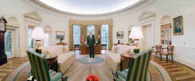 , 'USA, Washington, George W. Bush, White House.,' 2007, Anastasia Photo