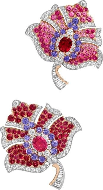 , 'Fogliame clips. Unique piece, High Jewelry Collection,' 2019, Van Cleef & Arpels