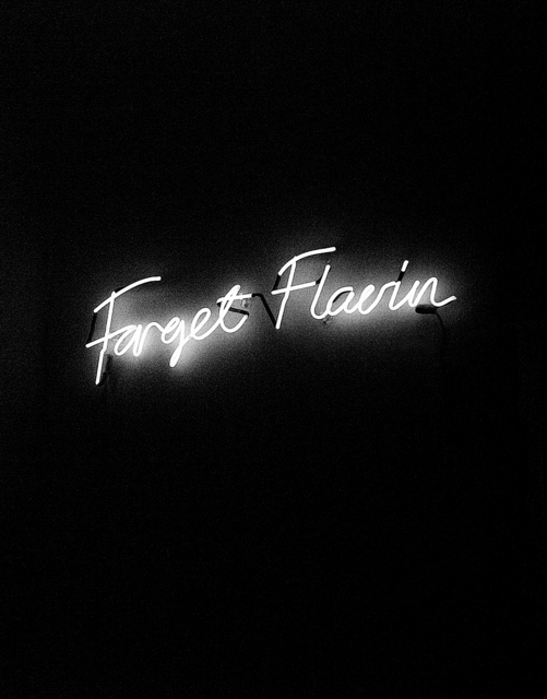 , 'Forget Flavin,' 2008, Yi Gallery