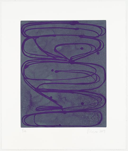 , 'Violets,' 2019, Manneken Press