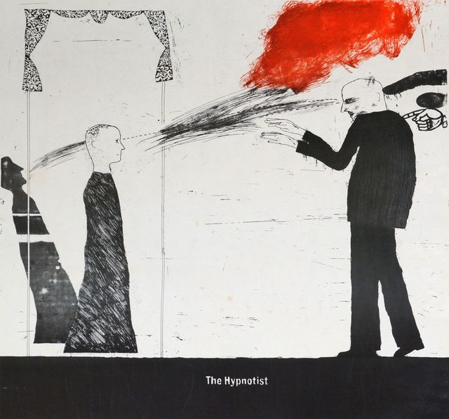 David Hockney, 'The Hypnotist', 1963, Roseberys