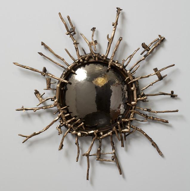 , 'Soleil Noir Handmade Mirror,' 2014, Maison Gerard