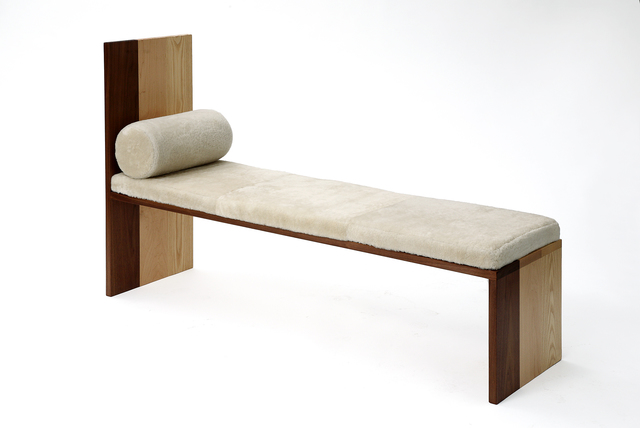 , 'Long Maple Ash Walnut Bench by Tinatin Kilaberideze,' 2015, Valerie Goodman Gallery