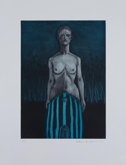, '青い森で,' 2013, Aki Gallery