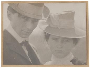 Self-Portrait with Sister, Milwaukee