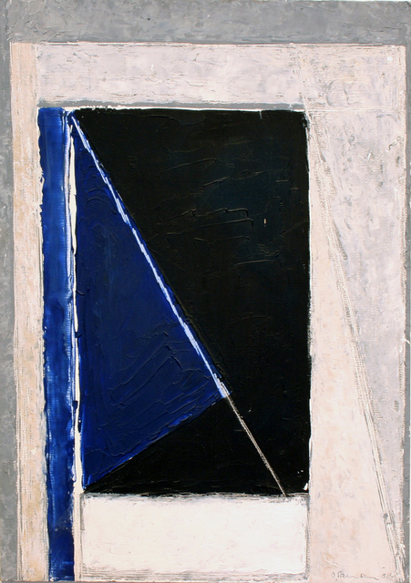 , 'Entry with Diagonal Wedge,' 1988, Wallace Galleries
