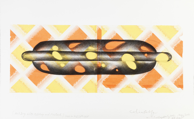 , 'Hot-Dog with Ketchup and Mustard,' 2012, The Mayor Gallery
