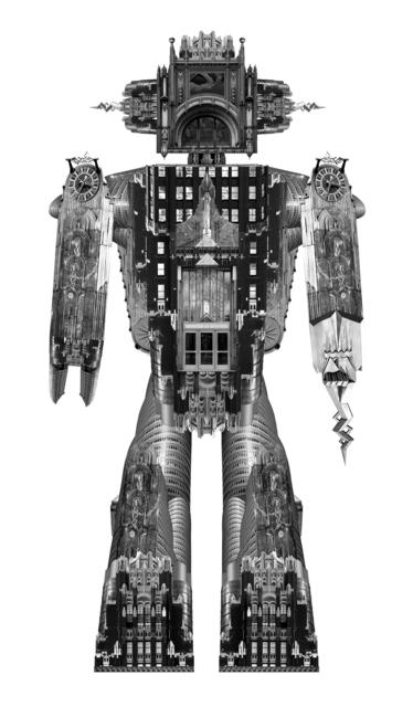 , 'NEW YORK, GLOBOBOT.NYC04,' 2015, Michele Mariaud Gallery