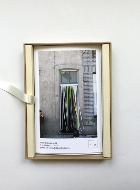 , 'Van Dorpe / Cottin / Cadere ,' 2018, Tatjana Pieters