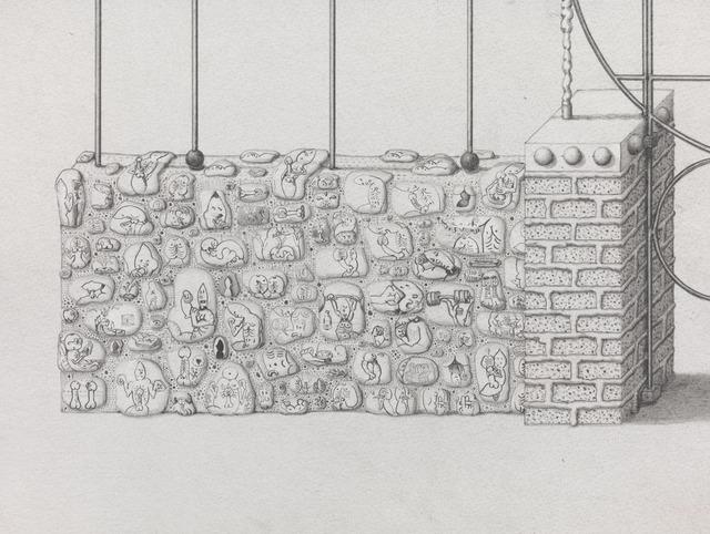 , 'Master Gates (detail),' 2013, Gagosian