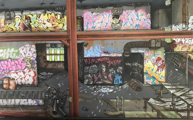 Butch  butch, 'MJ  Factory and Michael Jackson', 2009, ArtGiverny