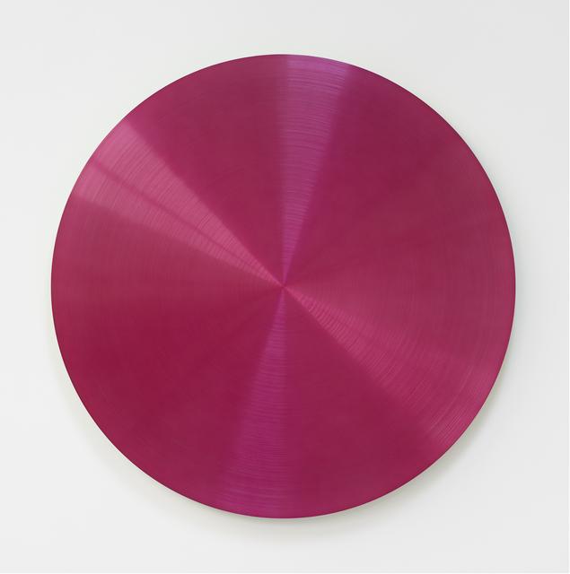 , 'Hot Pink Spiral Dub,' 2017, Galería Hilario Galguera