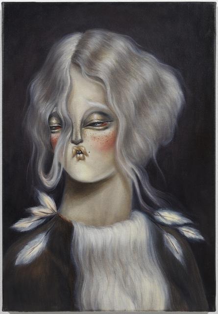 Miss Van, 'Pale Moonlight Muses III', 2021, Painting, Oil on Canvas, Dorothy Circus Gallery