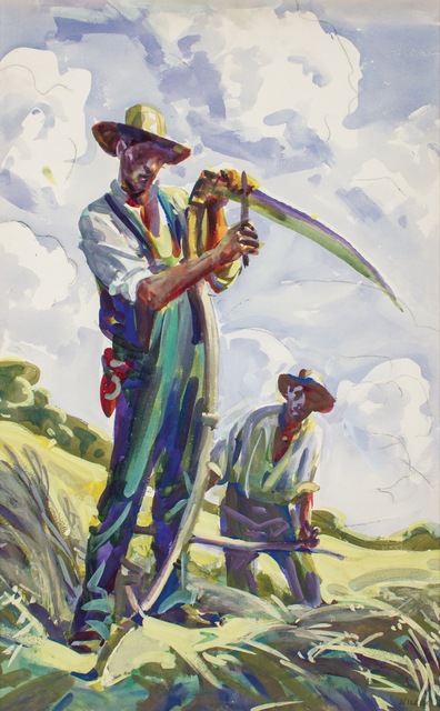 , 'Sharpening the Scythe,' ca. 1916, WOLFS