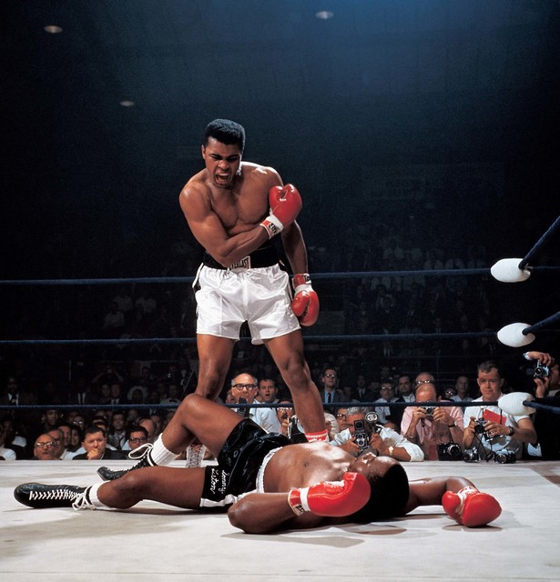 , 'Ali Knocks out Liston,' 1965, TASCHEN