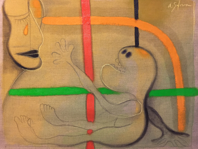 , 'Figure Reaching,' 2017, Gallery 300
