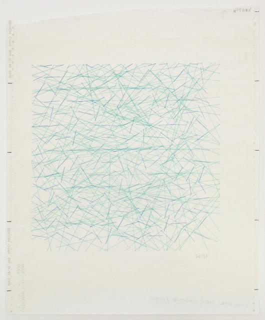 , 'Inclinaisions,' 1971, Senior & Shopmaker Gallery