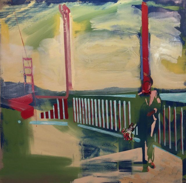 , 'Bridge on the Bridge,' 2018, Childs Gallery
