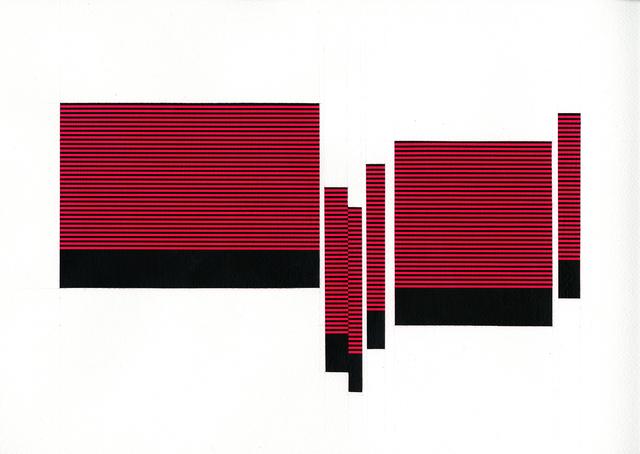 , 'Field/Terrace (Lt. Red 17),' 2016, Joseph Nease Gallery