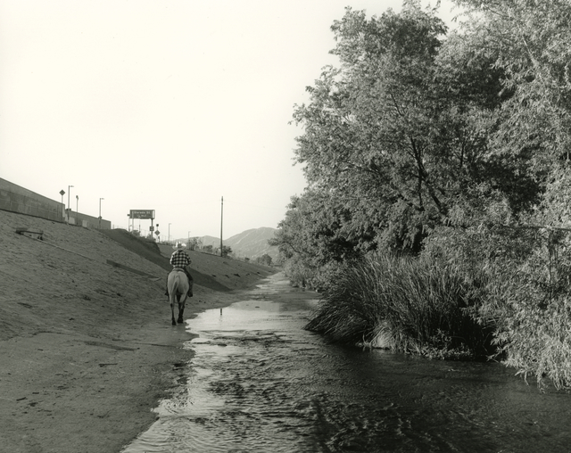 Mark Ruwedel, 'LA River/Glendale Narrows #24', 2017, Photography, Gelatin silver print dry-mounted to archival board, Gallery Luisotti