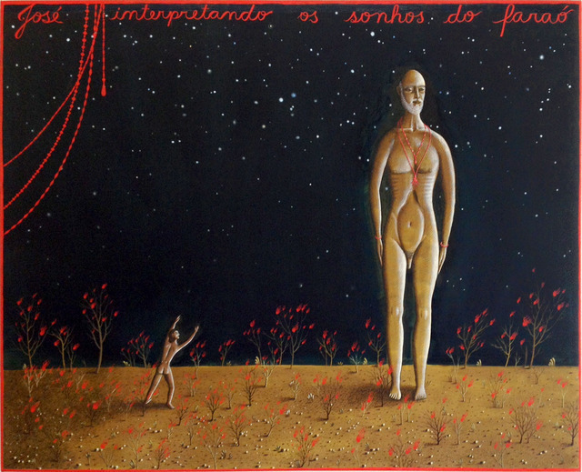 , 'José interpretando os sonhos do Faraó,' 2013, Casa Triângulo