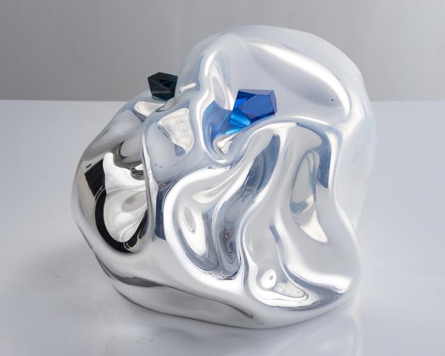 , 'Unique crumpled sculptural vessel,' 2016, R & Company