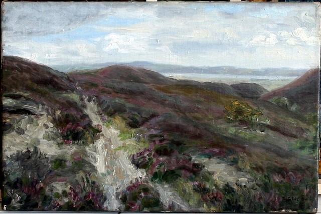 Konstantin Gorbatov, 'Rolling Meadow Landscape', 1916, Tranter-Sinni Gallery