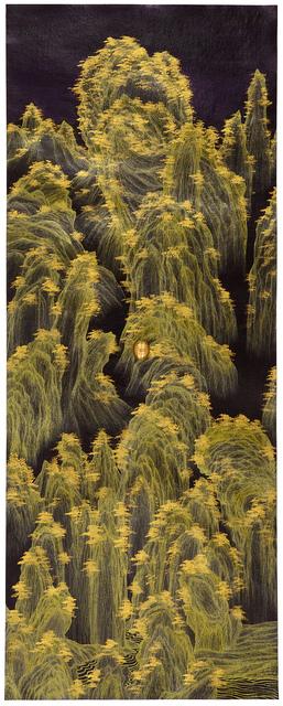 , 'Brain Landscape II: Golden Mountain,' 2015, Tina Keng Gallery