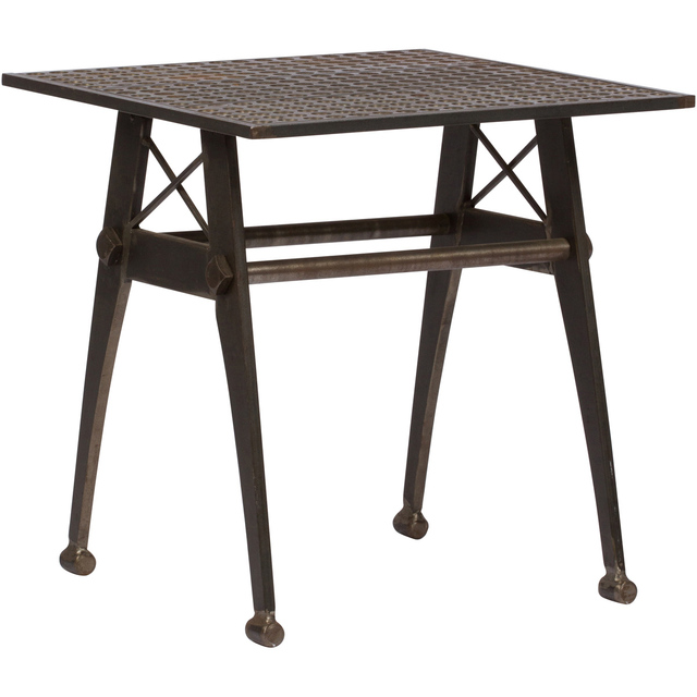 , 'Vintage Industrial Style Metal Side Table,' ca. 1990, On Madison