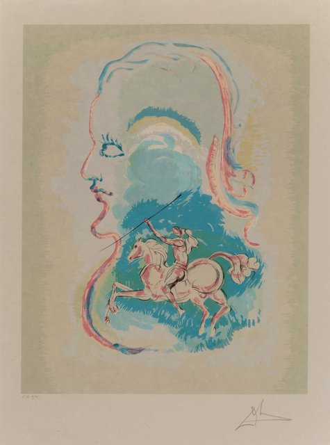Salvador Dalí, 'Dream of a Horseman', 1979, Heritage Auctions