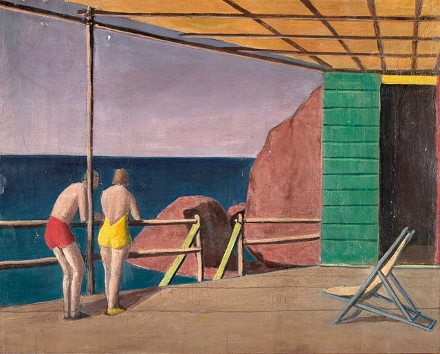 Pompeo Borra, 'Composizione', 1939, Painting, Oil on canvas, Finarte