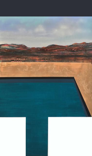 , 'Desert Pool,' 2017, Thackeray Gallery