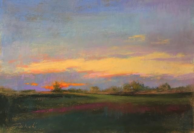 , 'Orange Sunset,' 2018, 530 Burns Gallery