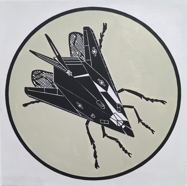 , 'Stealth Fly,' 2018, Deep Space Gallery