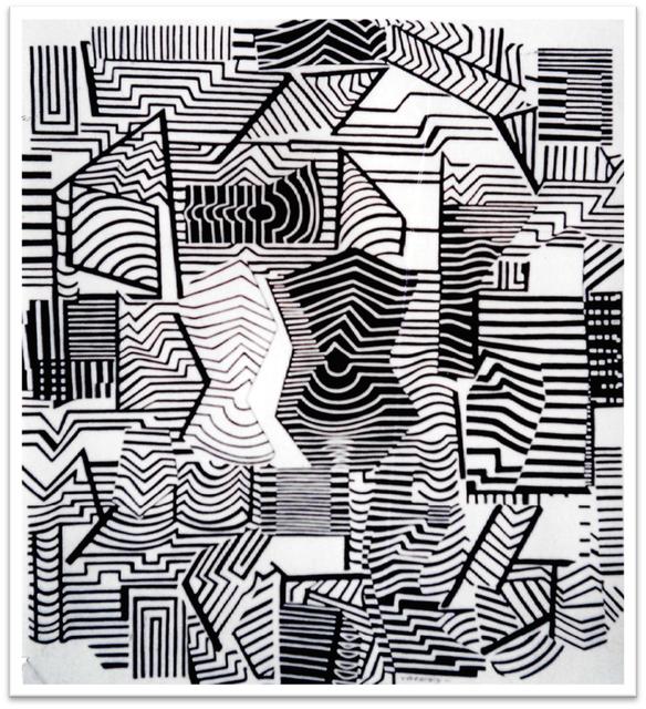 , 'Graphisme 4,' 1958, Davidson