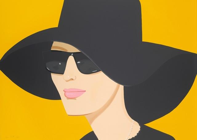 Alex Katz, 'Ulla in Black Hat', 2010, Frank Fluegel Gallery