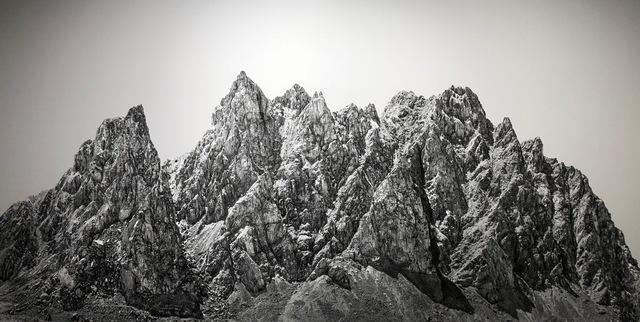 Shao Wenhuan 邵文欢, 'Forgotten Mountain No.1 40° 6'26N,95°51'52E 遺山1', 2018, Rasti Chinese Art